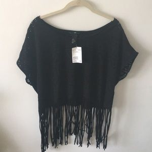 H&M Crop Top with Fringe